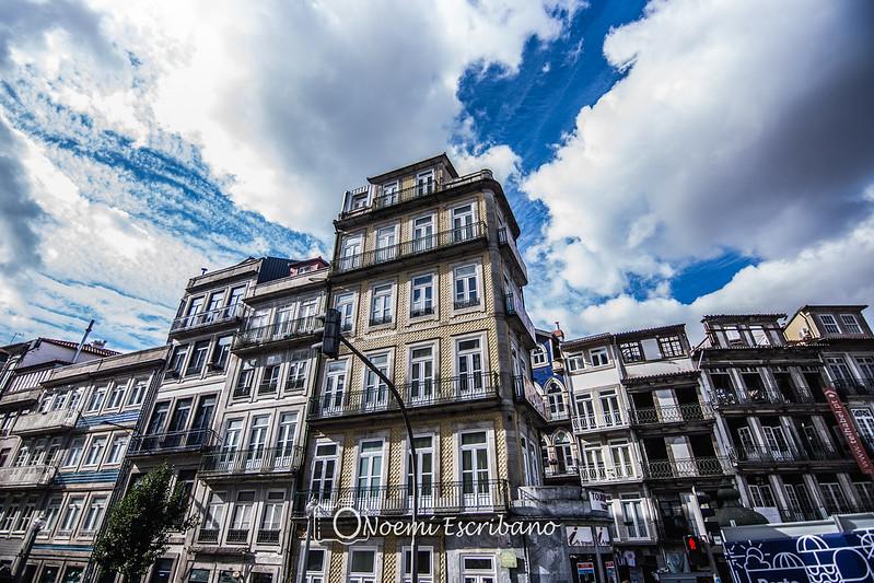 Oporto - fachada azulejos