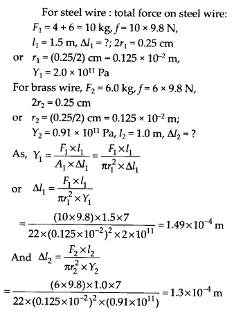 NCERT Solutions for Class 11 Physics Chapter 9 Mechanical properties of solid 4
