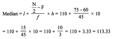 RD Sharma Class 10 Solutions Chapter 15 Statistics Ex 15.4 15c