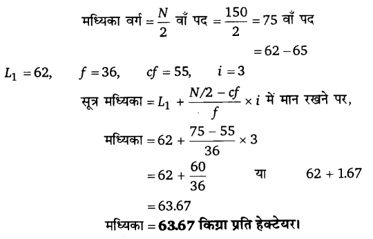 UP Board Solutions for Class 11 Economics Statistics for Economics Chapter 5 Measures of Central Tendency 22