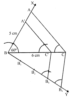 RD Sharma Class 10 Solutions Chapter 9 Constructions Ex 9.2 -9