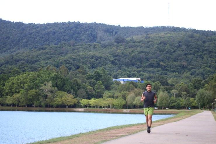 วิ่งชมวิว - อ่างเก็บน้ำมหาวิทยาลัยสงขลา