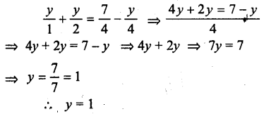 Selina Concise Mathematics class 7 ICSE Solutions - Simple Linear Equations (Including Word Problems) -c6..