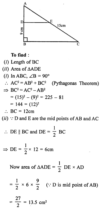 Class 9 Maths Chapter 13 Linear Equations in Two Variables RD Sharma Solutions