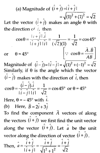 NCERT Solutions for Class 11 Physics Chapter 4 Motion of plane 26