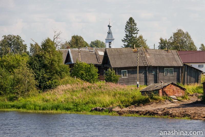 Деревня Еройла и Спасская церковь, Карелия