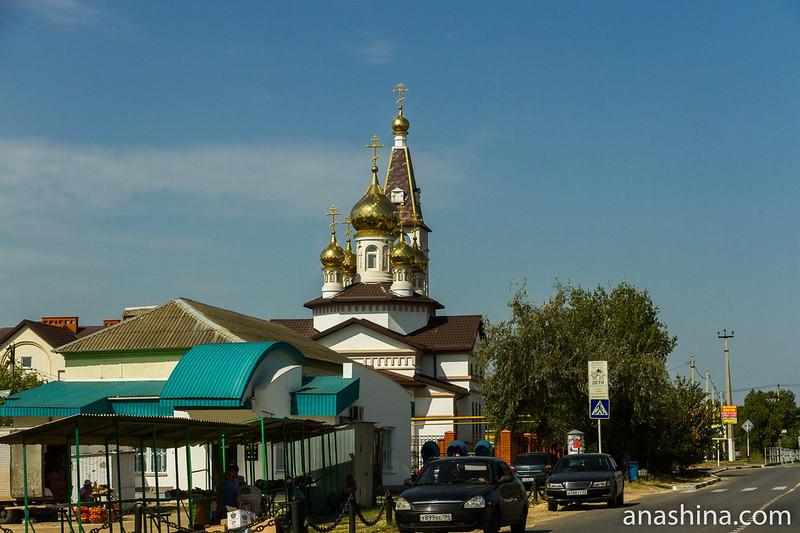 Церковь Пантелеимона Целителя, Голубицкая