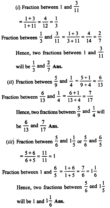 Selina Concise Maths class 7 ICSE Solutions - Fractions (Including Problems)-B9..