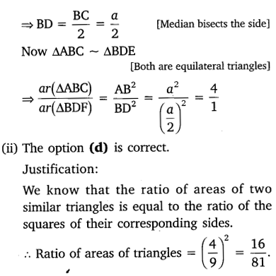 NCERT Solutions for Class 10 Maths Chapter 6 Triangles 65
