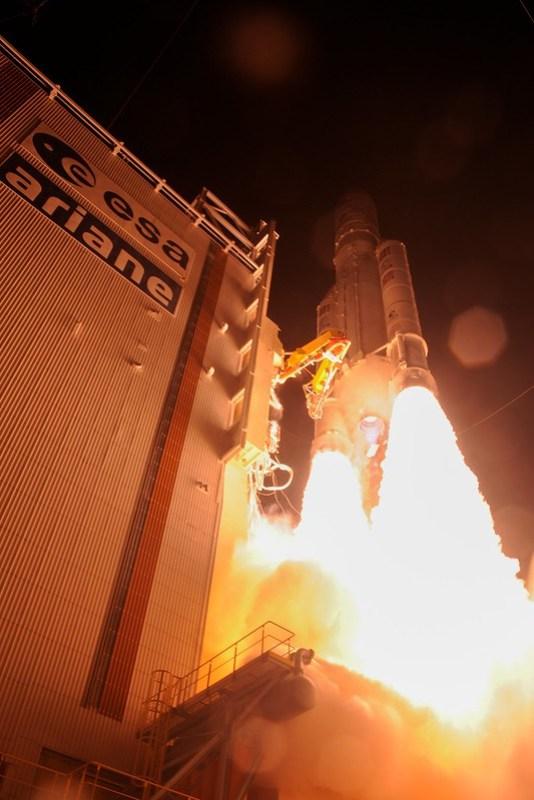 BepiColombo liftoff