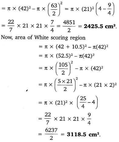NCERT Solutions for Class 10 Maths Chapter 12 Areas Related to Circles 4