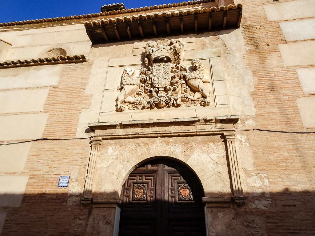 Convento de la Encarnacion portada Almagro Ciudad Real