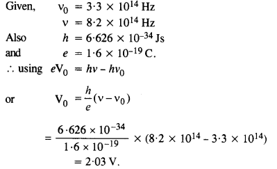 NCERT Solutions for Class 12 physics Chapter 11Dual Nature of Radiation and Matter.52