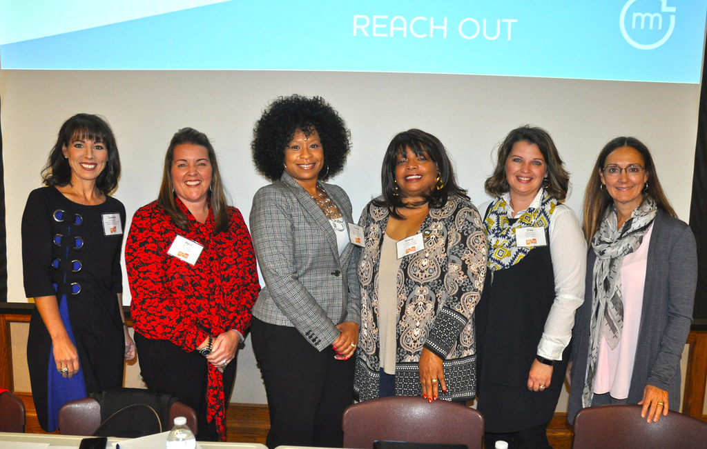 Participants at the Women Leading Local Government Event at University of Michigan - Summer Minnick, April Lynch, Torrie McAfee, Sheryl Mitchell, Deb Stuart and Elisabeth Gerber