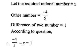Selina Concise Mathematics class 7 ICSE Solutions - Rational Numbers-c12