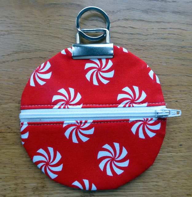 Christmas Bauble pouch
