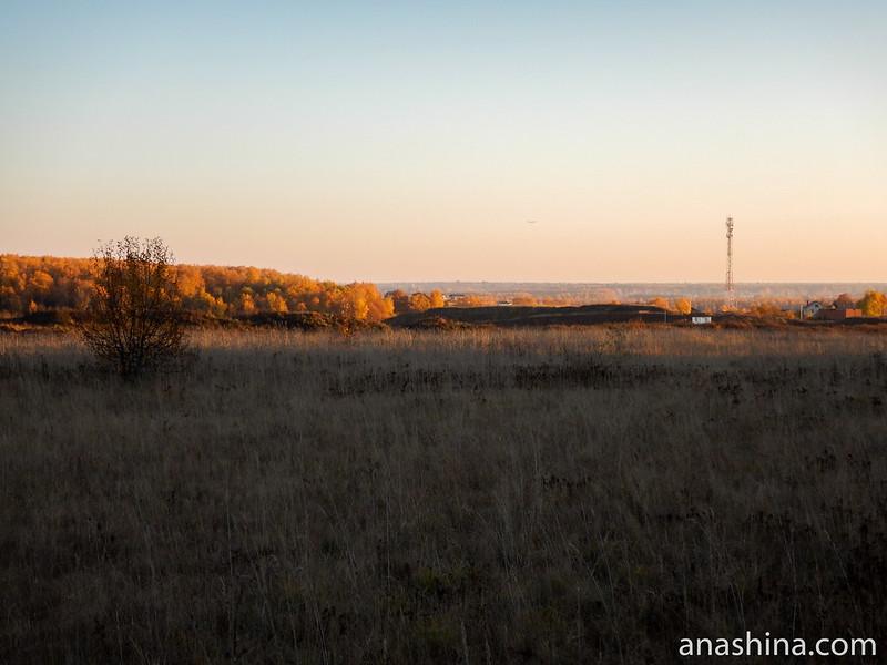 Карьер в Протасово, Московская область, городской округ Мытищи