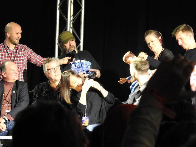 Firestorm panel - MCM Comic Con - Sam Payne Picture 5