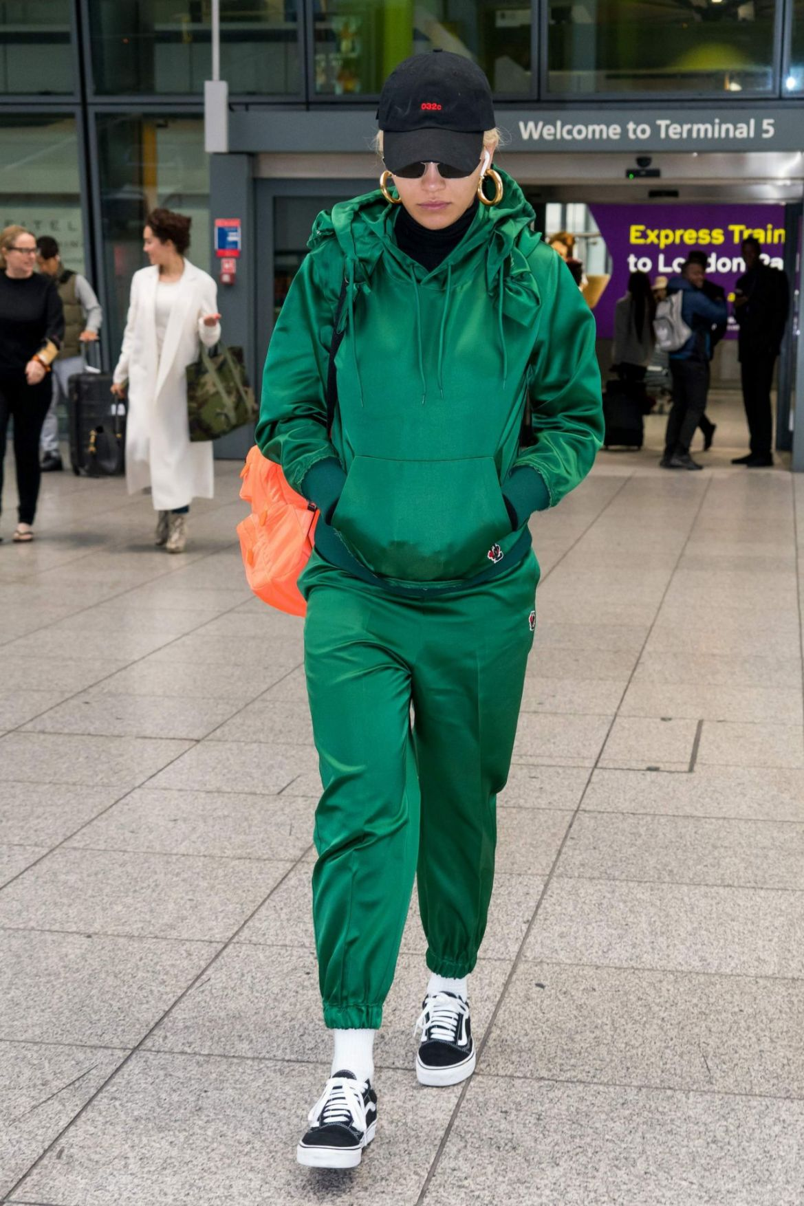 Rita Ora – Heathrow Airport in London 10/17/2018