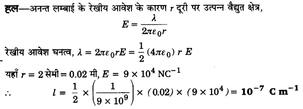 UP Board Solutions for Class 12 Physics Chapter 1 Electric Charges and Fields Q23