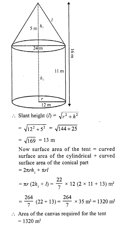 RD Sharma Class 10 Solutions Chapter 14 Surface Areas and Volumes  RV 46