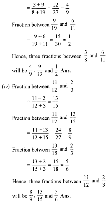 Selina Concise Maths class 7 ICSE Solutions - Fractions (Including Problems)-B8......