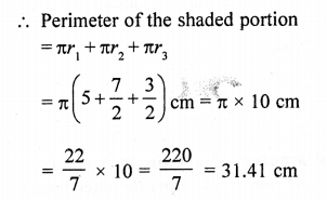 RD Sharma Class 10 Solutions Chapter 13 Areas Related to Circles Ex 13.4 - 36a
