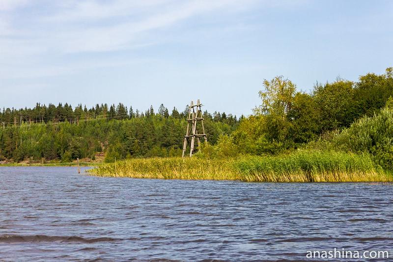 Линия электропередачи, Ладожское озеро