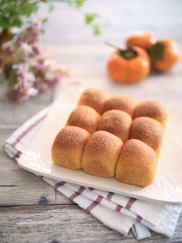 柿酵母のにんじんパン IMG_6038 (2)