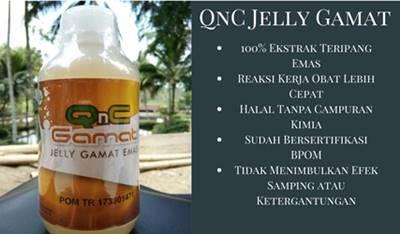 QnC Jelly Gamat obat penyakit puru