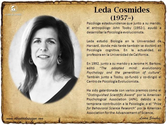 El Baúl de los Autores: Leda Cosmides