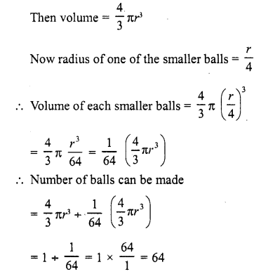 RD Sharma Class 10 Solutions Chapter 14 Surface Areas and Volumes  RV 15
