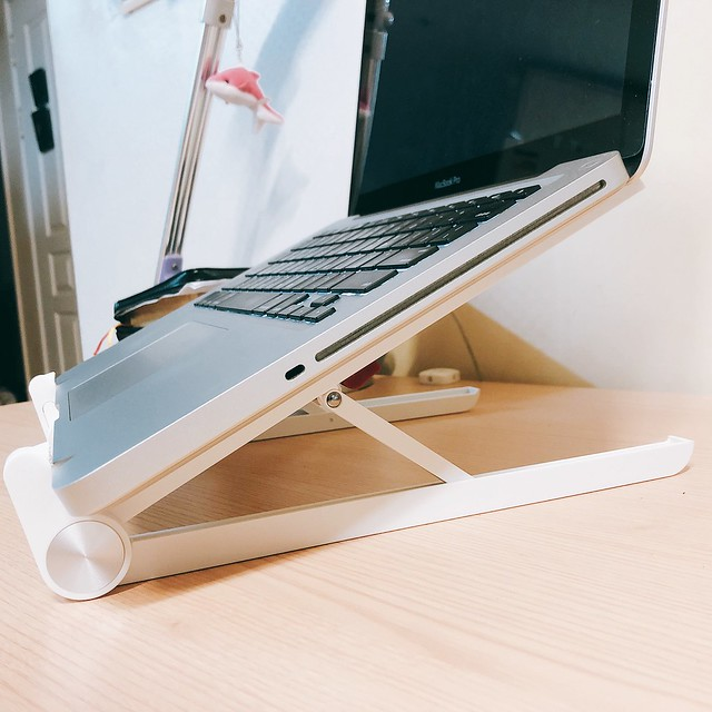 접이식 휴대용 노트북 거치대 STEELIE X1 4