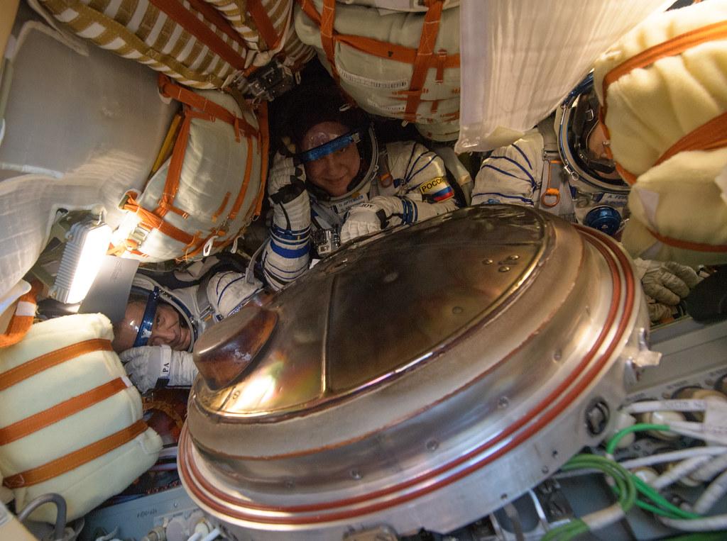 Expedition 56 Soyuz MS-08 Landing (NHQ201810040039)