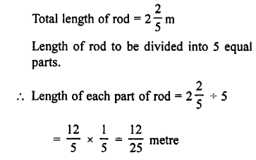 Selina Concise Maths class 7 ICSE Solutions - Fractions (Including Problems)-C16