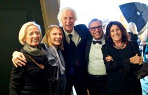 Reine Turner, Eliane Laffont, Douglas Kirkland, Hossein Farmani, Francoise Kirkland - 003 Lucie AwardsParty DSC03152
