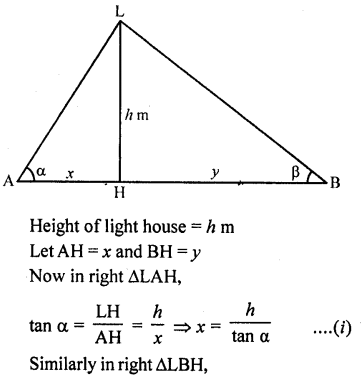 RD Sharma Class 10 Solutions Chapter 12 Heights and Distances Ex 12.1 - 75