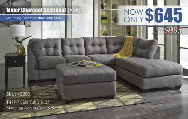 Maier Charcoal Sectional 45200_NEW