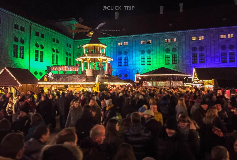 Residenz | Mercadillo navidad de Múnich