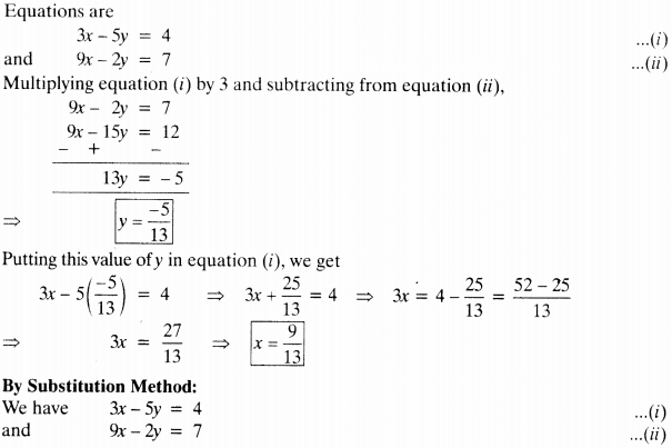 NCERT Solutions for Class 10 Maths Chapter 3 Pair of Linear Equations in Two Variables 40