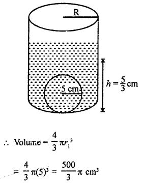 RD Sharma Class 9 Chapter 21 Surface Areas and Volume of a Sphere