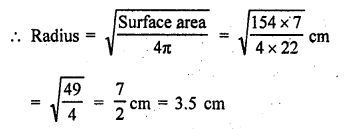 RD Sharma Class 9 PDF Chapter 21 Surface Areas and Volume of a Sphere