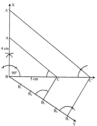 RD Sharma Class 10 Solutions Chapter 9 Constructions Ex 9.2 -7