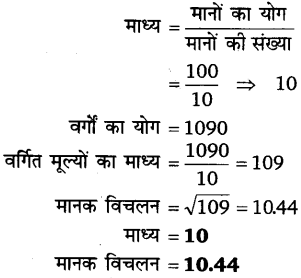 UP Board Solutions for Class 11 Economics Statistics for Economics Chapter 6 Measures of Dispersion 40