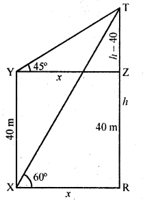 RD Sharma Class 10 Solutions Chapter 12 Heights and Distances Ex 12.1 - 49