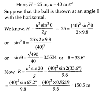 NCERT Solutions for Class 11 Physics Chapter 4 Motion of plane 18
