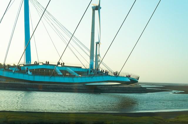 高美湿地 橋