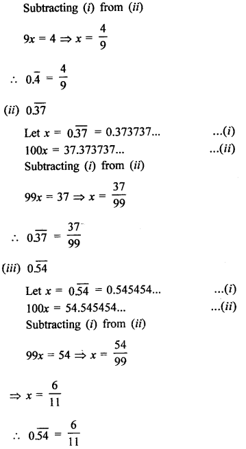 RD Sharma Class 9 Solutions Chapter 1 Number Systems - 1.3.2aa