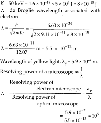 NCERT Solutions for Class 12 Physics Chapter 11 Dual Nature of Radiation and Matter 63