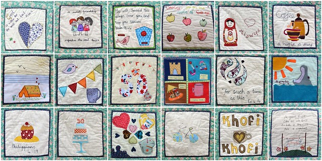 Shirleys Friendship Quilt blocks